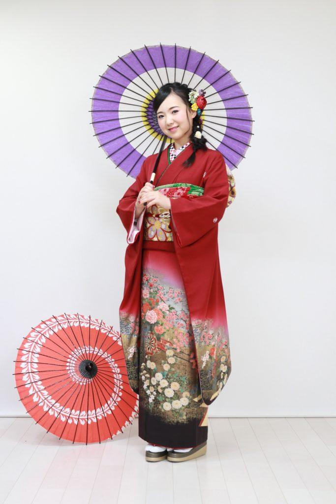 日産呉服・和田甚、色留袖・振袖レンタル|FR-145|:¥180,000