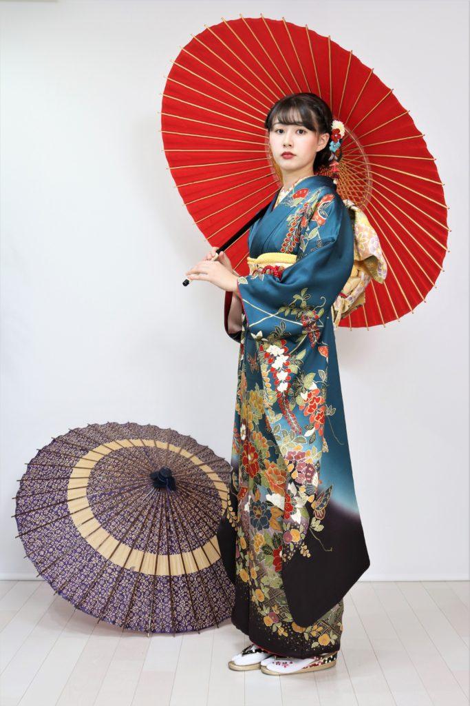 日産呉服・和田甚、振袖コレクション:FR-108/レンタル価格:¥126,000