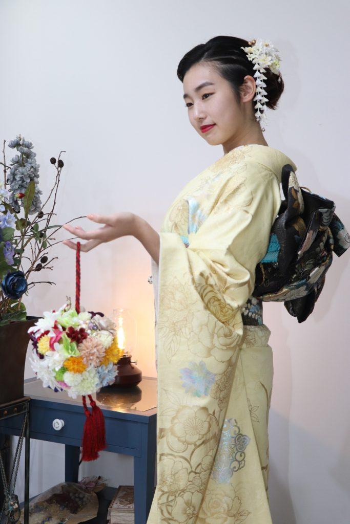 日産呉服・和田甚、振袖コレクション:FUN-1003/レンタル価格:¥198,000